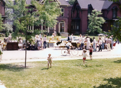 West Canfield Streetfair 1976